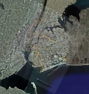 Google New York Map.Men On Maps Orin Buck