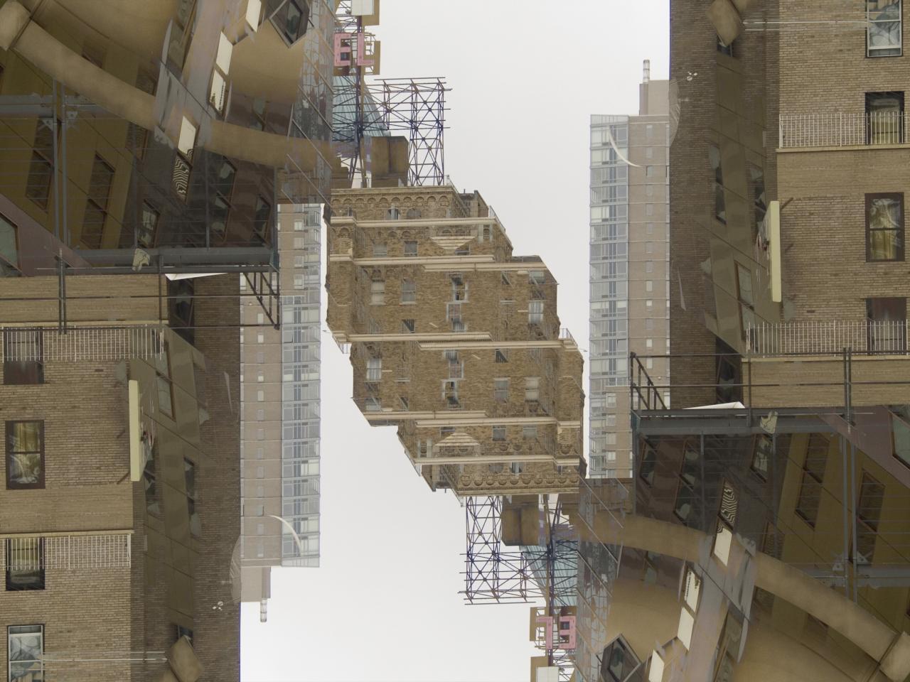 City Node, 2007, digital photograph photoshopped by Orin Buck.