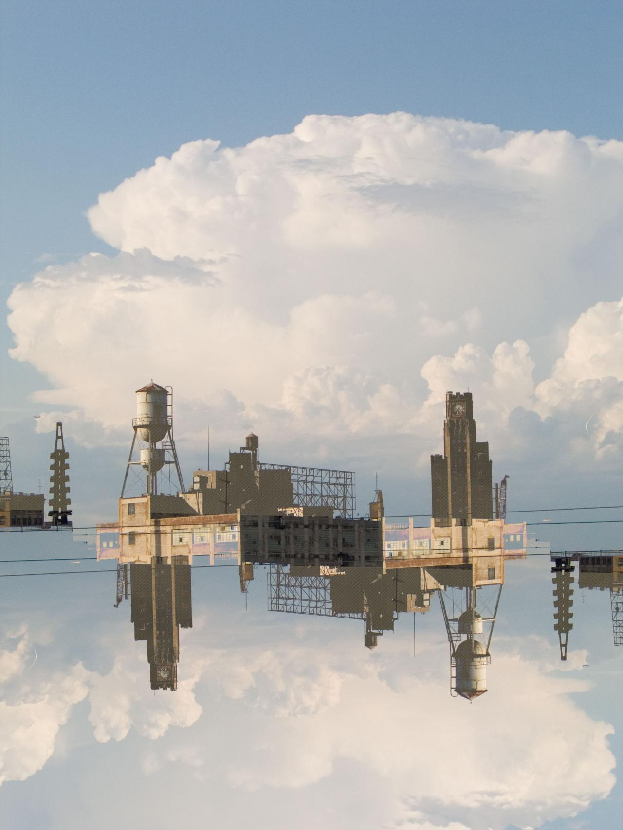 Cloud Structure, 2008, digital photograph photoshopped by Orin Buck.