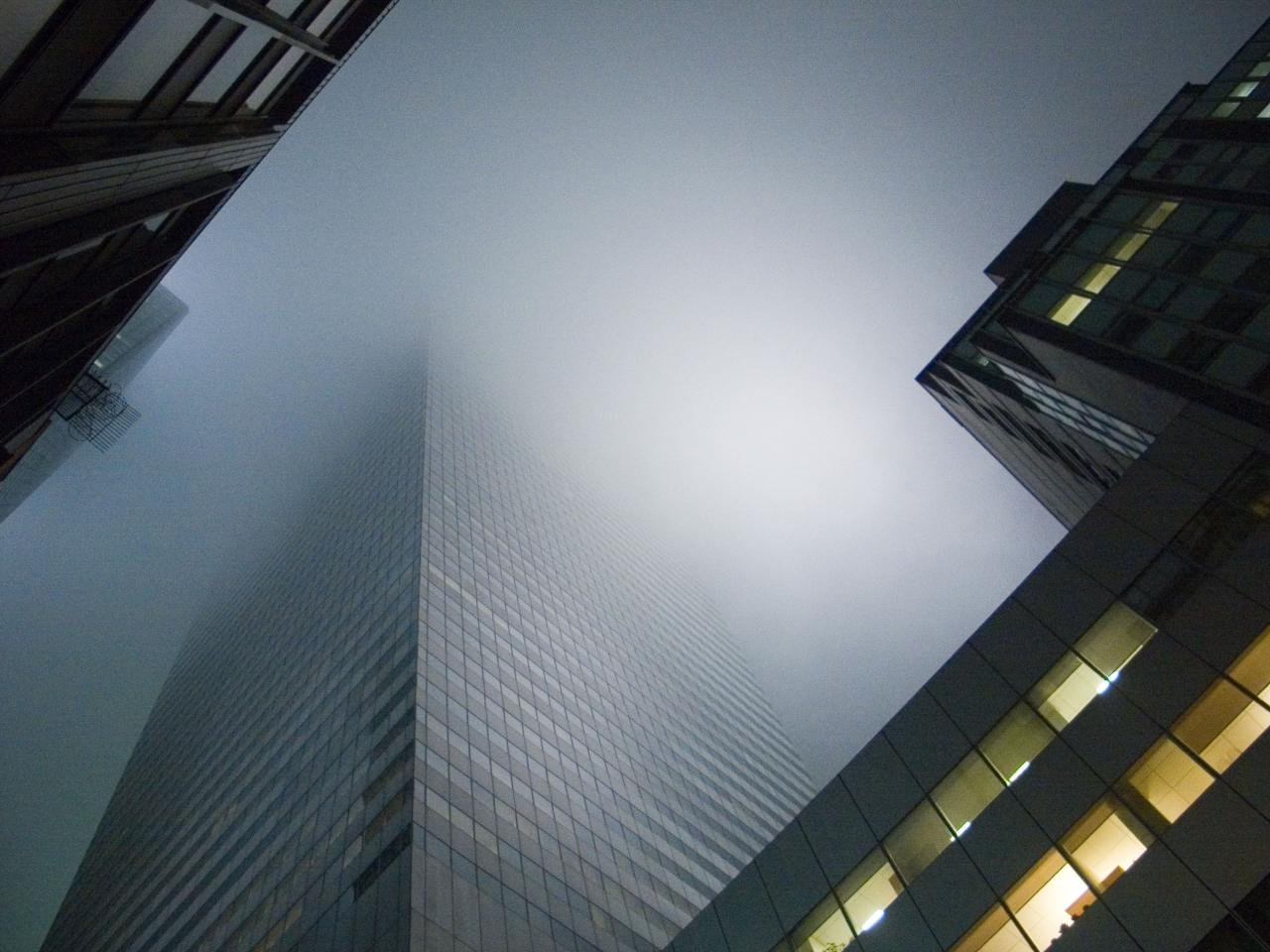 Fog, 2008, digital photograph by Orin Buck.