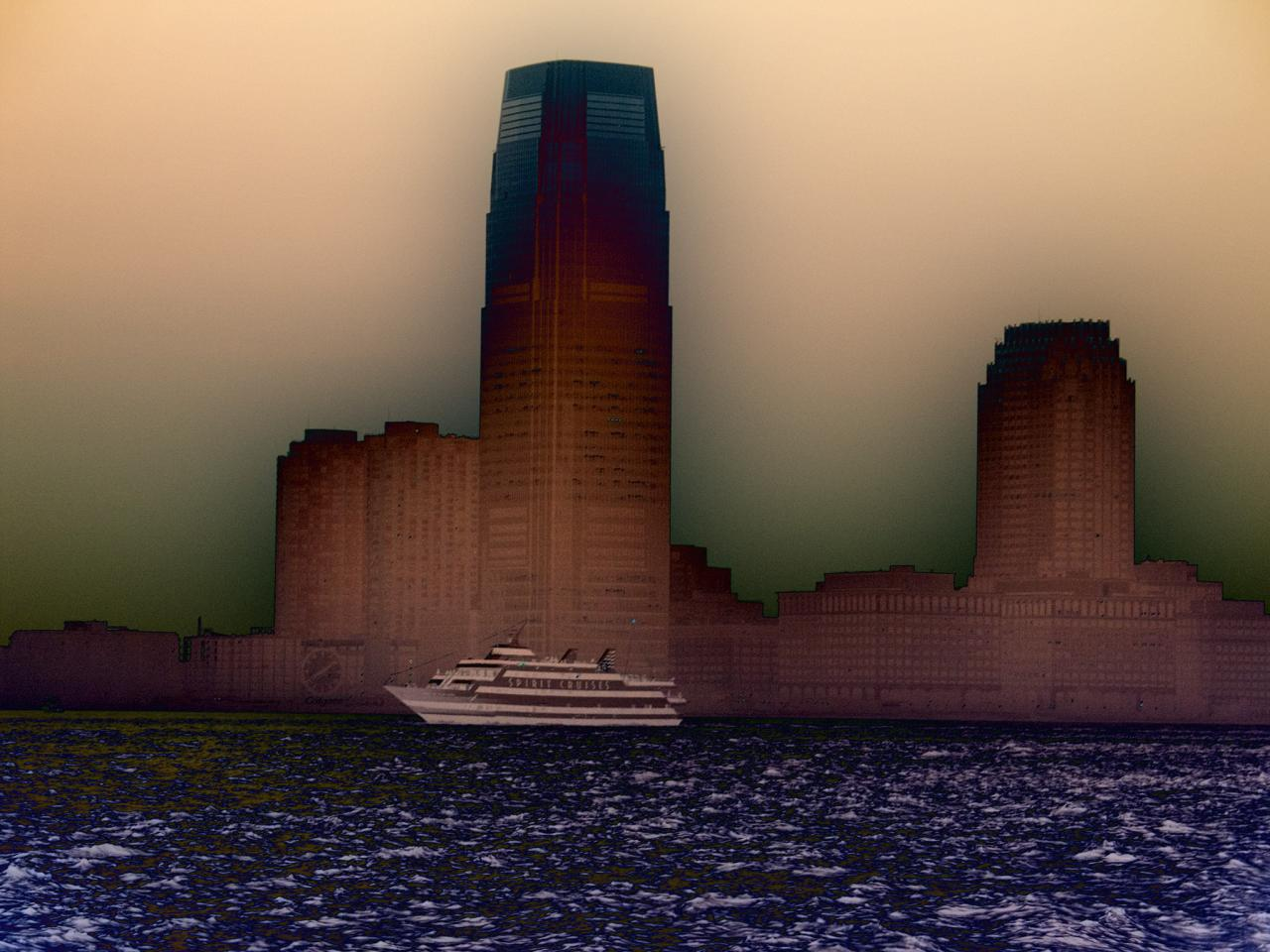 Spirit Cruise, 2007, digital photograph photoshopped by Orin Buck.