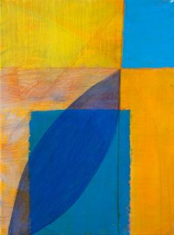 """Reach, 2015, acrylic on canvas, 12""""x9"""""""