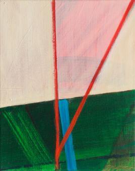 "Dynamic, 2016, acrylic on canvas, 10""x8"""