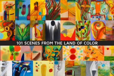 """""""101 Scenes from the Land of Color"""" Solo Show – paintings by Orin Buck"""