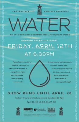 Water, an art show that contemplates and honors water