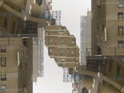 City Node, 2007, digital photograph photoshopped by Orin Buck.