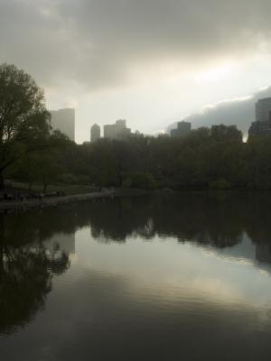 Central Park View, 2006, digital photograph by Orin Buck.