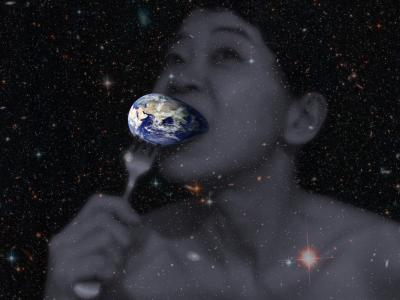 End of the World 2012, photoshopped photo collage by Orin Buck
