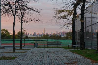 New York Sunset From Queens, 2014 digital photo, by Orin Buck.