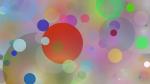 Sample screen from Dot Space algorithmic computer art.
